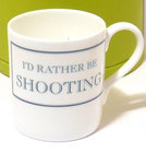Image of: I'd rather be SHOOTING Mug