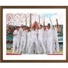 Image of: England 2010/11 Podium Celebration