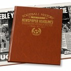 Image of: Commemorative Newspaper Book - Manchester United in Europe