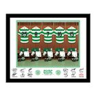 Image of: Celtic Dressing Room Framed Photo