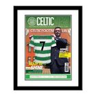 Image of: Celtic Framed Personalised Magazine Cover
