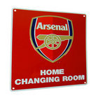 Image of: Arsenal Home Changing Room Sign