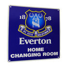 Image of: Everton Home Changing Room Sign