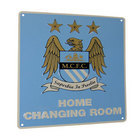 Image of: Manchester City Home Changing Room Sign