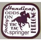 Image of: Horse Racing Text Coaster