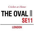 Image of: The Oval Cricket at Home Metal Wall Sign