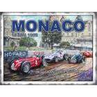 Image of: Monaco 1956 Grand Prix Metal Wall Sign
