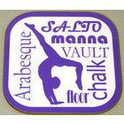 Image of: Gymnastics Text Coaster