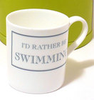 Image of: I'd rather be SWIMMING Mug