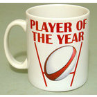 Image of: Rugby Player of the Year Mug
