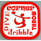 Image of: Handball Text Coaster