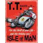 Image of: 1961 TT Races Metal Wall Sign