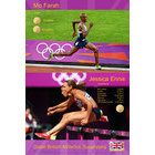 Image of: Mo Farah and Jess Ennis Poster