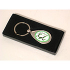 Image of: Running Metal Keyring