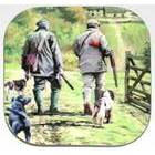Image of: Gamekeeper (Shooting) Coaster (Set of Four)