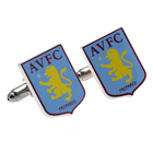 Image of: Aston Villa Crest Cufflinks