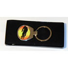 Image of: Cycling Metal Keyring