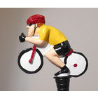 Image of: Cyclist Yellow Jersey Bottle Stopper