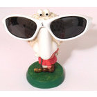 Image of: Comic Lady Golfer Specs Glasses Holder
