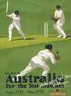Image of: Australia Ashes Cricket Metal Wall Sign