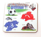 Image of: Football Coaster  (Little Snoring)