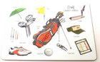 Image of: Golf Placemat Single (Little Snoring)