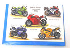 Image of: Motor Cycling Greeting Card