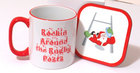 Image of: Christmas Rugby Mug & Coaster Set