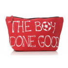 Image of: The Boy Done Good Football Washbag - Red
