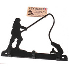 Image of: Fishing 3 Hook Key Rack