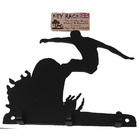 Image of: Surfing 3 Hook Key Rack