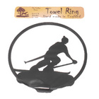 Image of: Skiing Towel Ring