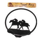 Image of: Horse Racing Towel Ring