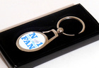 Image of: No 1 Table Tennis Fan Keyring