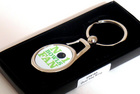 Image of: No 1 Bowls Fan Keyring
