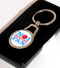 Image of: No 1 Bowling Fan Keyring