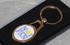 Image of: No 1 Volleyball Fan Keyring