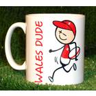 Image of: Rugby Dude Mug - Wales