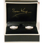 Image of: Rugby Ball Sterling Silver Cufflinks