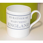 Image of: I'd rather be watching ENGLAND Mug