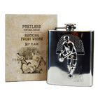 Image of: Portland Rugby Legend Hip Flask