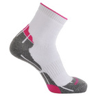 Image of: Horizon Women's Technical Golf Socks - White/Hot Pink
