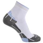 Image of: Horizon Women's Technical Golf Socks - White/Sky