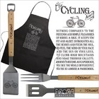 Image of: The Cycling Addict BBQ & Apron Set