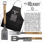 Image of: The Mad About Rugby BBQ & Apron Set