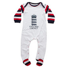 Image of: England Cricket Infant Sleepsuit