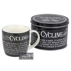 Image of: Cycling Addict Mug and Tin