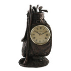 Image of: Juliana Golf Bag Bronze Finish Clock