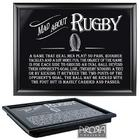 Mad about Rugby Lap Tray
