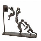 Image of: Basketball Metal 'Quest for the Net' Figurine